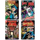 DC Comics Batman Comic Covers Set of 4 Coasters