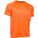 Under Armour Men's Tech Patterned Short Sleeve T-Shirt - Orange