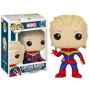 Marvel Unmasked Captain Marvel Pop! Vinyl Figure