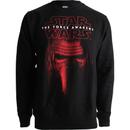 Star Wars Men's Kylo Ren Mask Sweatshirt - Black