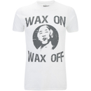 Karate Kid Men's Wax On Wax Off T-Shirt - White