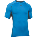 Under Armour Men's Armour HeatGear Short Sleeve Training T-Shirt - Brilliant Blue/Stealth Grey