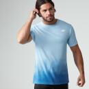 Myprotein 男子渐变色运动健身T恤 – 皇家蓝色