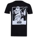 Star Wars Rogue One Men's Trooper Polaroid T-Shirt - Black