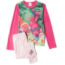 Trolls Girls' Graphic Print Pyjamas - Pink