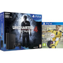 PlayStation 4 Slim 500GB with Uncharted 4 and FIFA 17