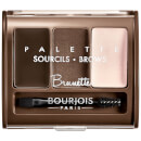 Bourjois Brow Palette - 02 Brown 3.2g