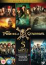 Pirates of the Caribbean: 1-5 Box Set