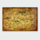 Legend of Zelda Map Poster