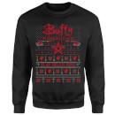 Buffy The Vampire Slayer Slay Bells Ring Sweatshirt - Black