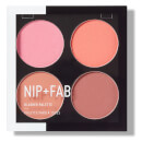 NIP+FAB Make Up Blusher Palette - Blushed 15.2g