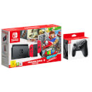 Nintendo Switch Super Mario Odyssey Limited Edition Bundle & Nintendo Switch Pro Controller