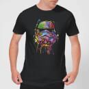 Camiseta Star Wars Stormtrooper Pintura - Hombre - Negro