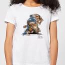 Camiseta Disney La Bella y la Bestia Sketch Bestia - Mujer - Blanco