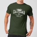 T-Shirt Homme California Native Shore - Vert Foncé