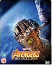 Avengers: Infinity War 3D (avec Version 2D) - Steelbook Exclusif Limité pour Zavvi (Édition UK)