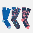Ted Baker Men's Tinse 3 Pack Socks