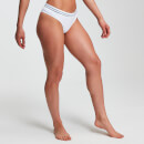 MP Essentials Seamless Thong för kvinnor – Vit - M