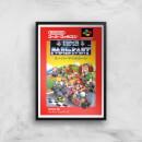 Nintendo Retro Super Mario Kart Poster