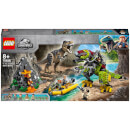 LEGO Jurassic World: T-Rex vs Dino-Mech Battle Set