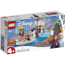 Anna And Olaf Frozen II LEGO Set