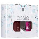 essie Winter Wonderland Bordeaux Burgundy Duo Kit