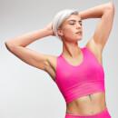 MP Women's Power Longline Sports Bra - Super Pink - XS