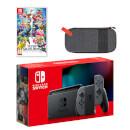 Nintendo Switch (Grey) Super Smash Bros. Ultimate Pack