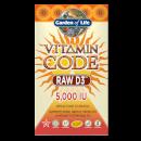 Vitamine Code Raw D3 5000 Iu - 60 capsules