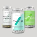 Myvitamins Omega 3, D3, Daily Multi Bundle