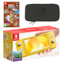 Nintendo Switch Lite (Yellow) LAYTON'S MYSTERY JOURNEY: Katrielle and the Millionaires' Conspiracy - Deluxe Edition Pack
