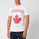 Dsquared2 Men's Cool Fit Maple Logo T-Shirt - White