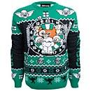 Gremlins Stripe Christmas Knitted Jumper