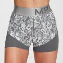 MP Women's Adapt Textured Shorts- Carbon - XXS