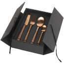 Broste Copenhagen Hammered Cutlery - 16 Piece - Copper