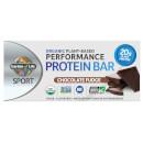 Garden of Life Sport Organic Plant - Based Protein Bar - Chocolate Fudge - 12 Bars