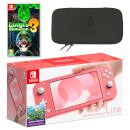 Nintendo Switch Lite (Coral) Luigi's Mansion 3 Pack