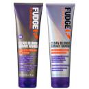 For Instant Results: FudgeClean Blonde Damage Rewind Shampoo