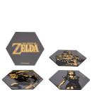 The Legend Of Zelda — Hexagonal Coaster Set