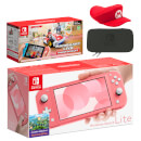 Nintendo Switch Lite (Coral) Mario Kart Live: Home Circuit - Mario Set Pack