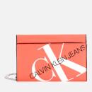 Calvin Klein Jeans Women's Logo Chain Cardcase Cross Body Bag - Island Punch