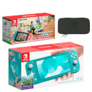 Nintendo Switch Lite (Turquoise) Mario Kart Live: Home Circuit - Luigi Set Pack
