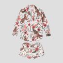 Desmond & Dempsey Women's Soleia Signature Set - Cream/Multi