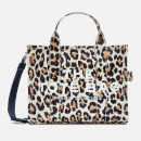 Marc Jacobs Women's Small Leopard Traveler Tote Bag - Natural Multi