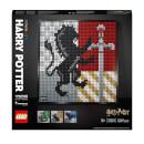 LEGO Art Harry Potter: Hogwarts Crests Poster Canvas Set (31201)