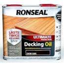 RONSEAL ULT PROTECTION DECK OIL DARK OAK