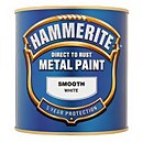 Hammerite Silver - Exterior Smooth Metal Paint - 250ml