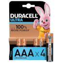 Duracell Ultra AAA Batteries - 4 Pack