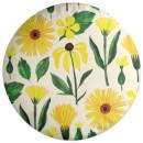 Flowers Round Cushion