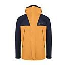 Men's Athunder Gore-tex Waterproof Jacket - Yellow / Dark Blue